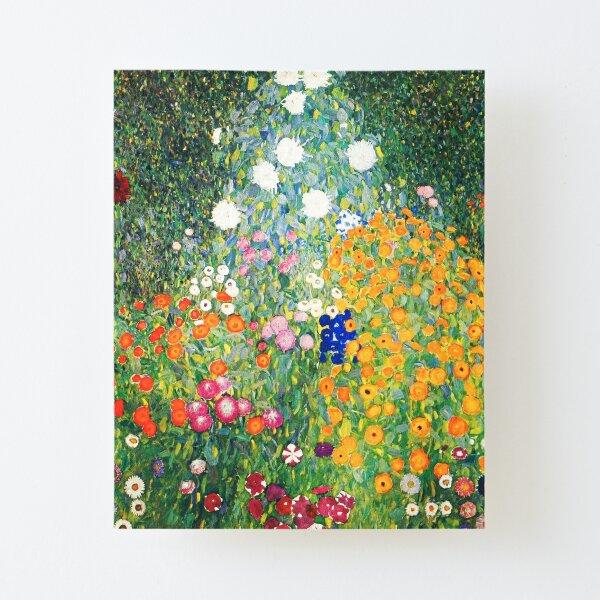 Flower Garden by Gustav Klimt Canvas Mounted Print