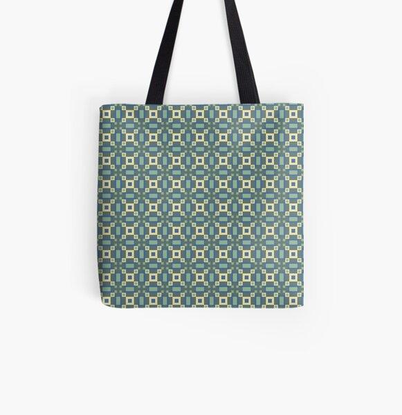 Blocks (1) All Over Print Tote Bag