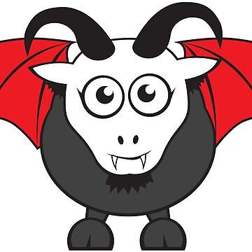 Vampire Grover Goat by GoatGirl