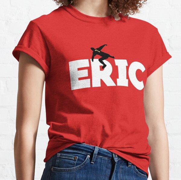 style rétro Manchester United Eric Cantona T-shirt thème football