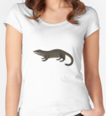 Otter Women's Fitted Scoop T-Shirt