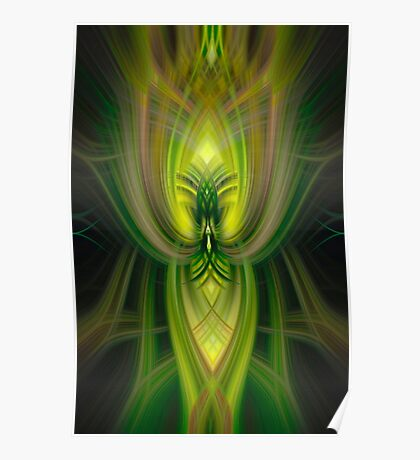 Big and Green Poster