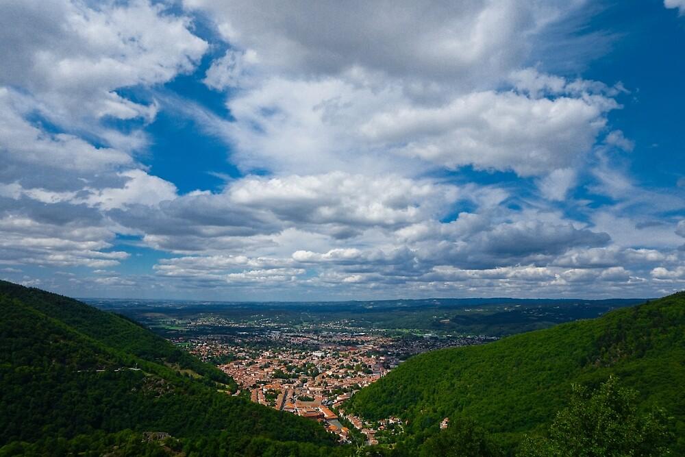 Valley town - Mazamet by skippy