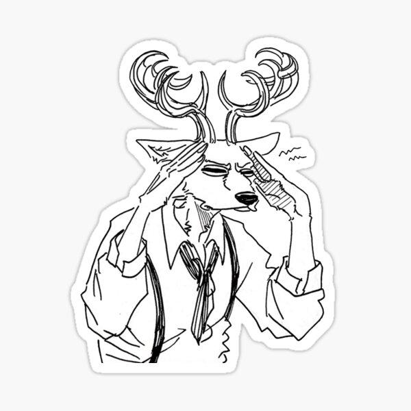 Beastars louis Sticker