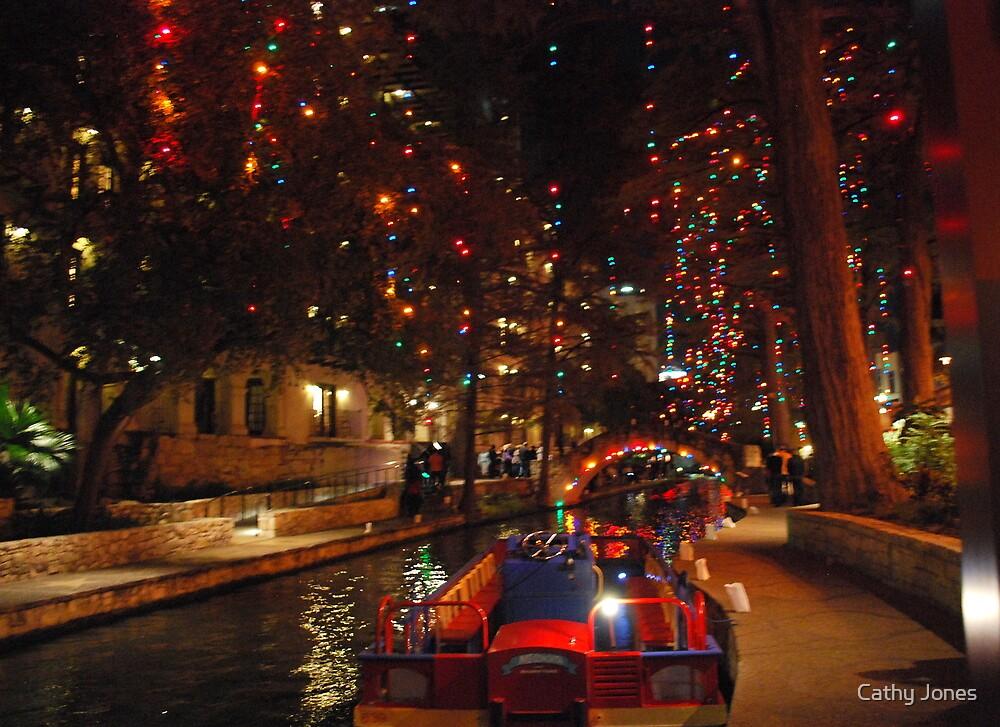 Quot San Antonio Riverwalk In December Quot By Cathy Jones Redbubble