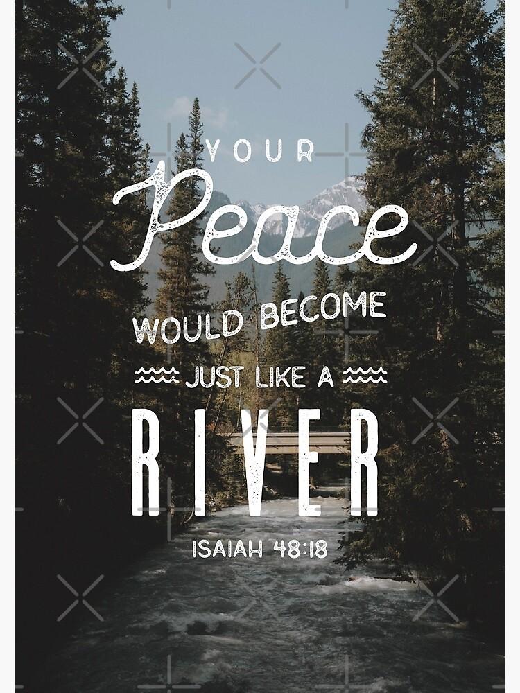 ISAIAH 48:18 by JenielsonDesign