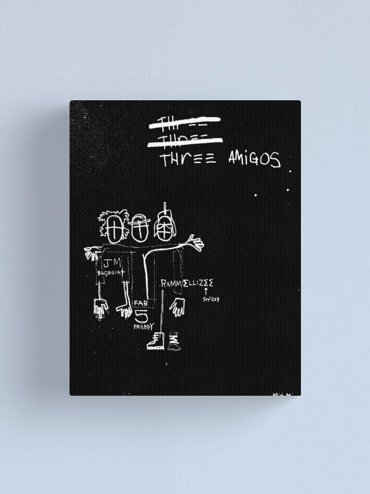 Alternate view of Three Amigos Canvas Print