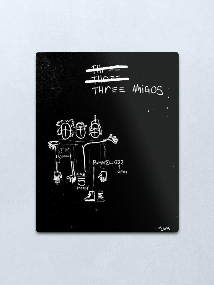 Alternate view of Three Amigos Metal Print
