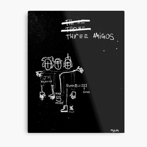 Three Amigos Metal Print