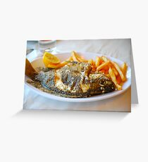 St. Peter's Fish from the Sea of Galilee Greeting Card
