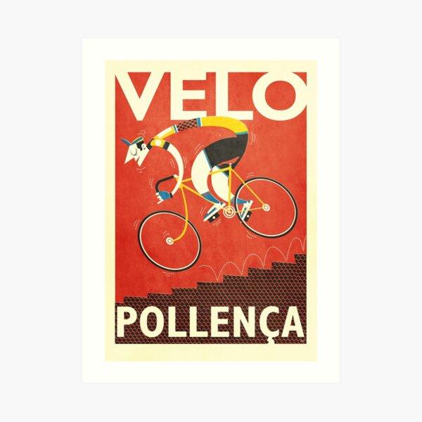 Velo Pollenca Art Print