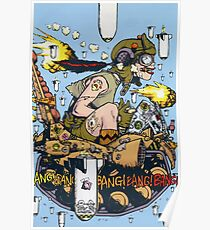 Tank Girl In A Plane! Poster