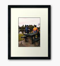 """""""Bait"""" Framed Print"""