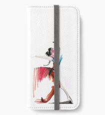 Expressive Ballerina Dance Drawing iPhone Wallet/Case/Skin