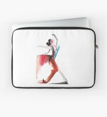 Expressive Ballerina Dance Drawing Laptop Sleeve