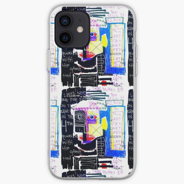 Too Much Black iPhone Soft Case