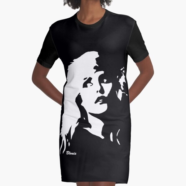 Blondie Female Rock and Punk Star Debbie GIFTS FROM MONOFACES FOR YOU IN 2020 Graphic T-Shirt Dress