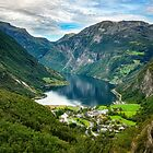 Geiranger, Norway by Kathy Weaver
