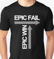 Epic Fail / Epic Win Unisex T-Shirt
