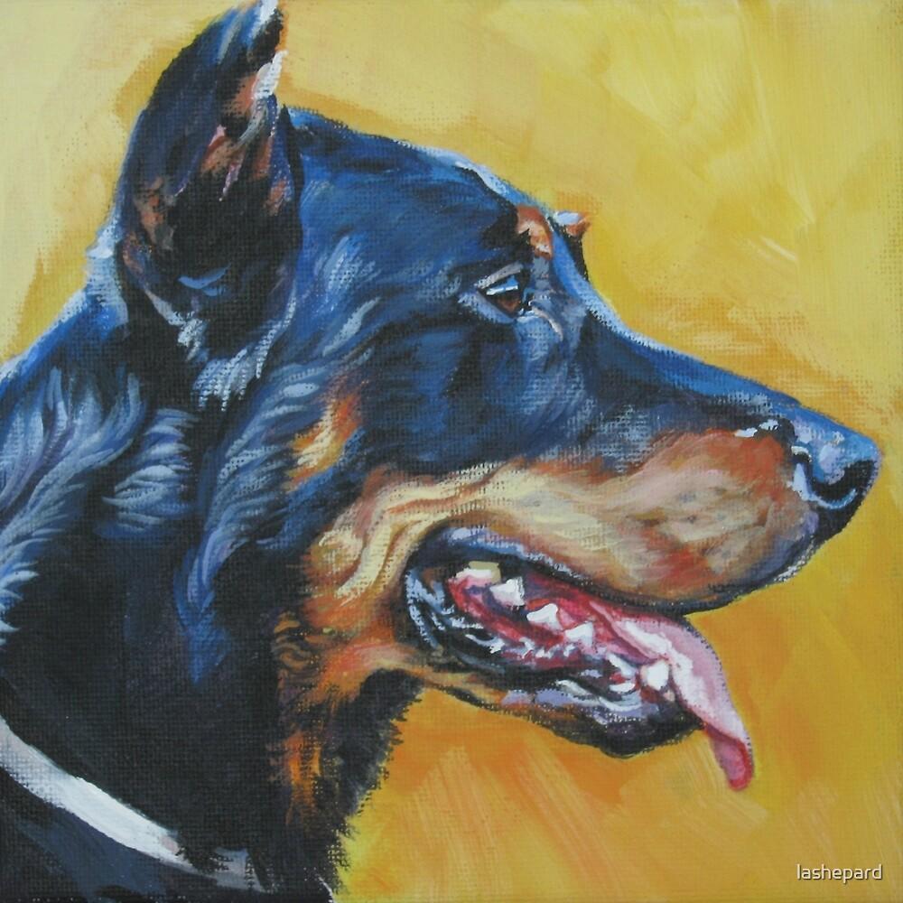 Beauceron Fine Art Painting by lashepard