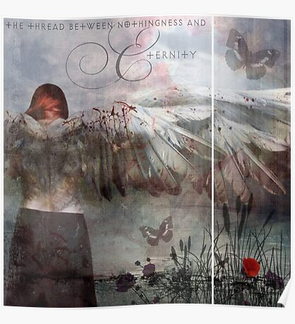The thread between nothingness and eternity Poster