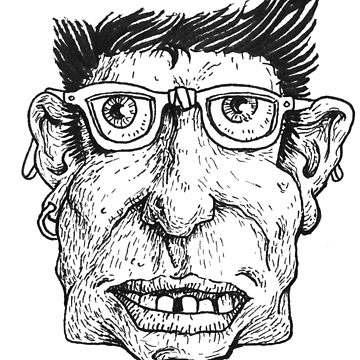 Ink Face Freak by Niwerin