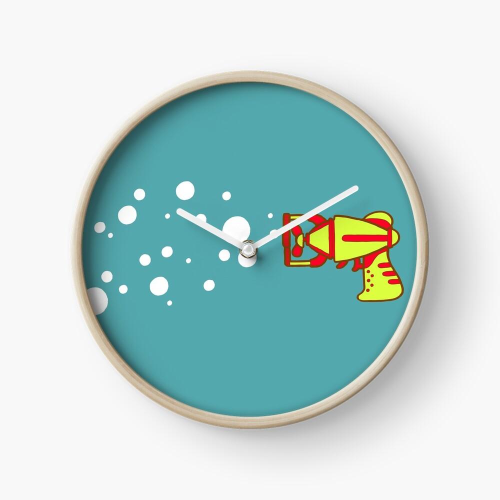 Bubblegun Clock