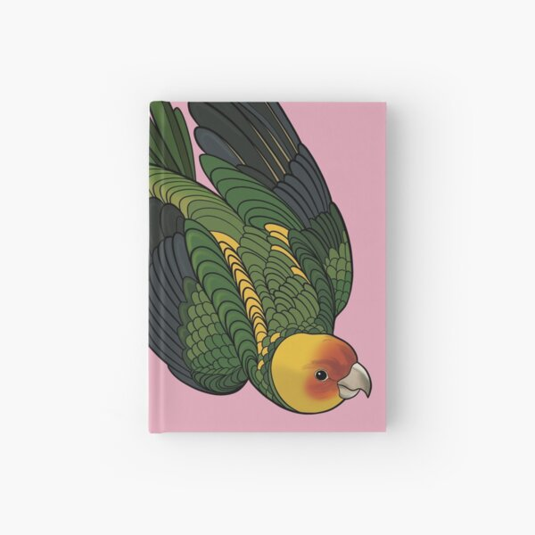 Parakeet! Pink Hardcover Journal