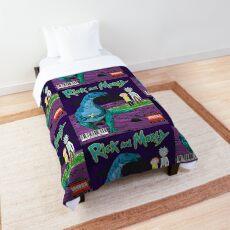 Rick And Morty - The Lost Portal Gun Vol 0 Comforter