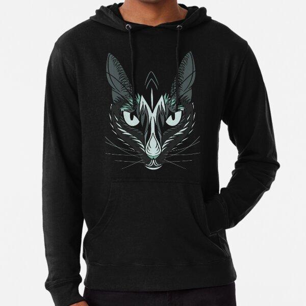 Dark Cat Lightweight Hoodie