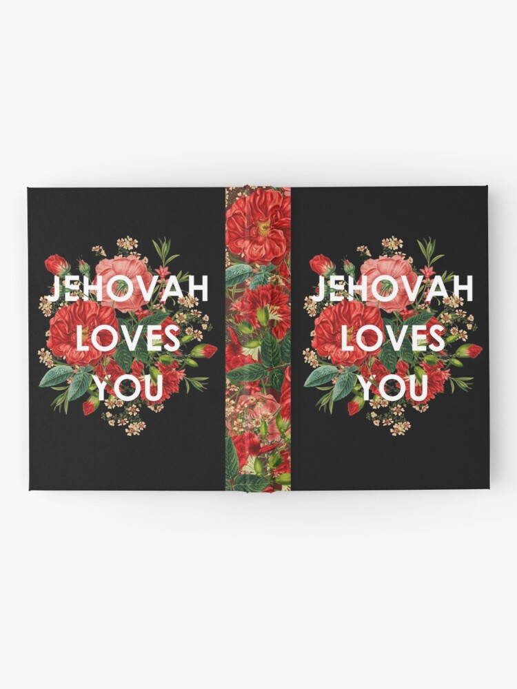 Alternate view of JEHOVAH LOVES YOU Hardcover Journal