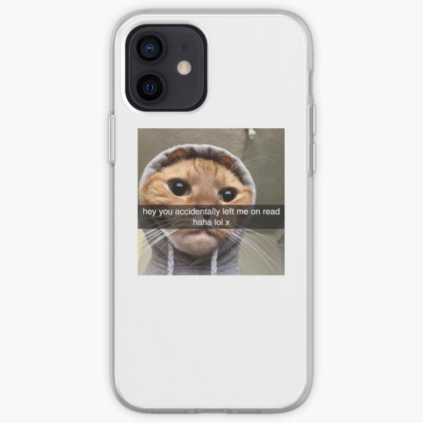 You left me on read iPhone Soft Case