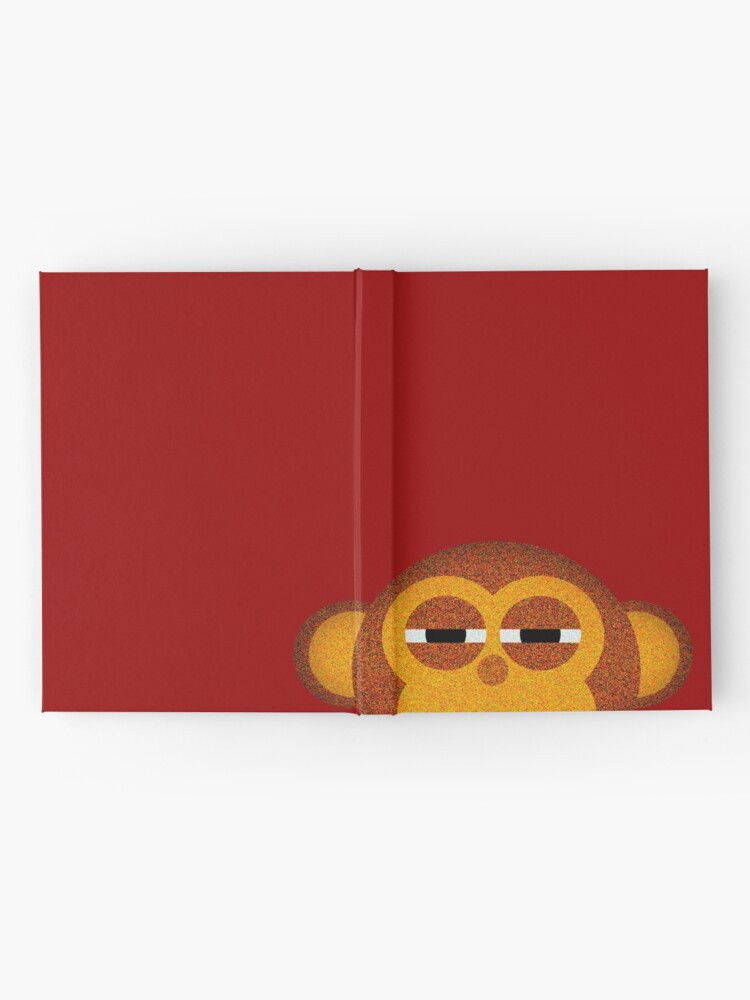Alternate view of Pocket monkey is highly suspicious Hardcover Journal