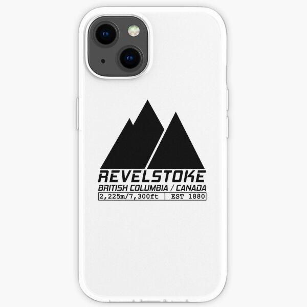 Ski Revelstoke British Columbia Canada Skiing and Snowboarding iPhone Soft Case