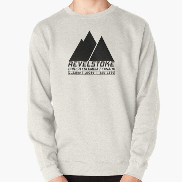Ski Revelstoke British Columbia Canada Skiing and Snowboarding Pullover Sweatshirt