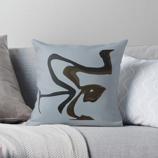 Aboriginal Man Throw Pillow