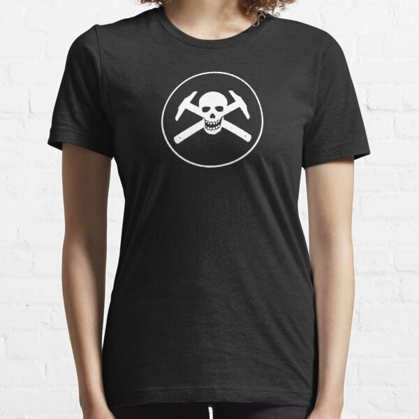 Architectural Jolly Rogers w/ circle - White Image Essential T-Shirt