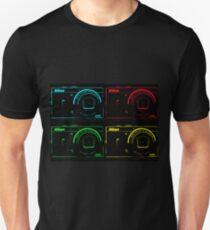 Nikon x 4 (PopArt) Unisex T-Shirt