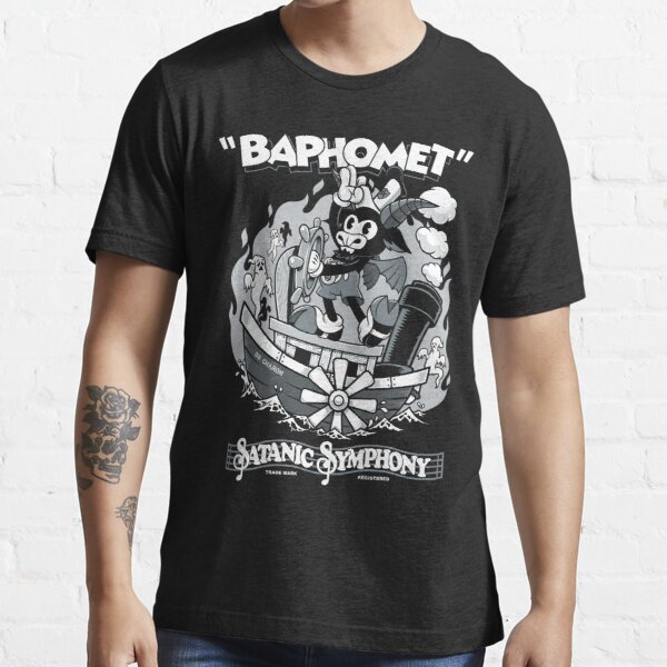 Vintage Cartoon Baphomet - Steamboat Baphy - Occult - Satanic Symphony Essential T-Shirt