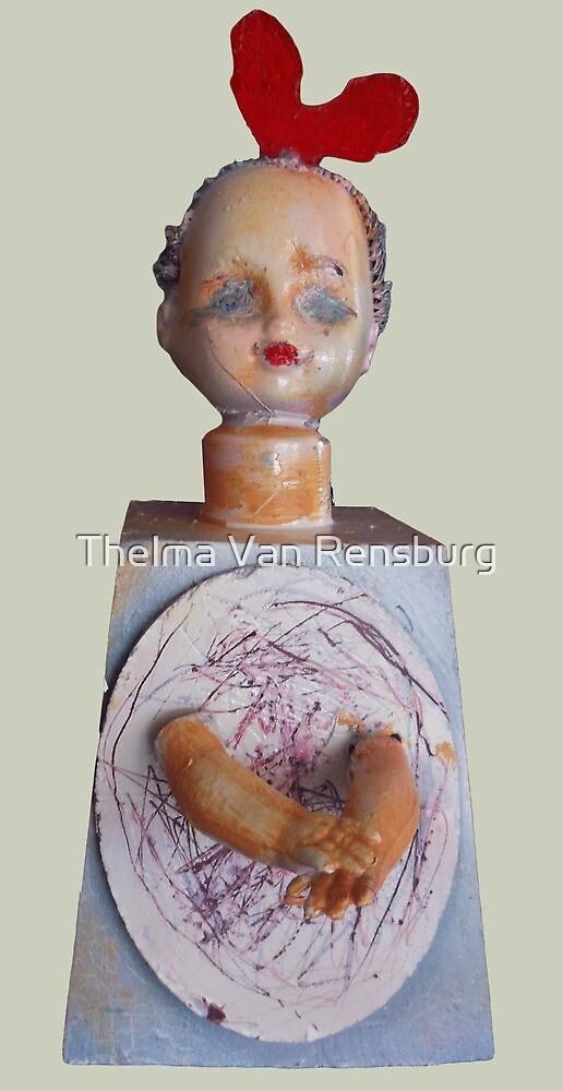 inner child, 2010 by Thelma Van Rensburg