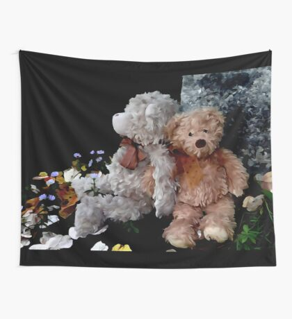 Teddy Bear Buddies Wall Tapestry