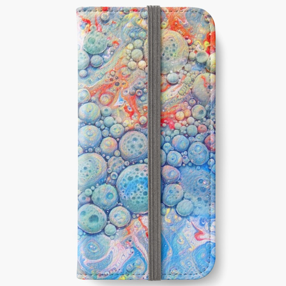 Abstraction #B Neural Networks iPhone Wallet