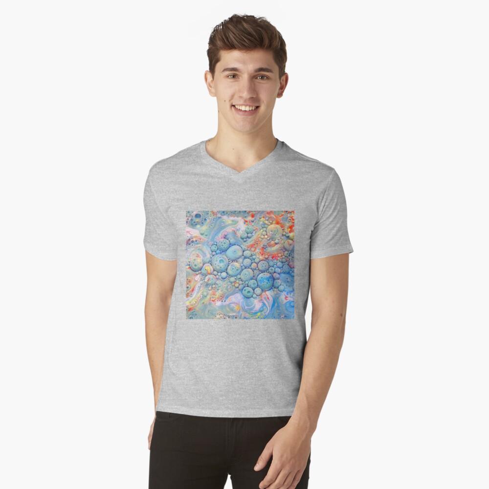 Abstraction #B V-Neck T-Shirt