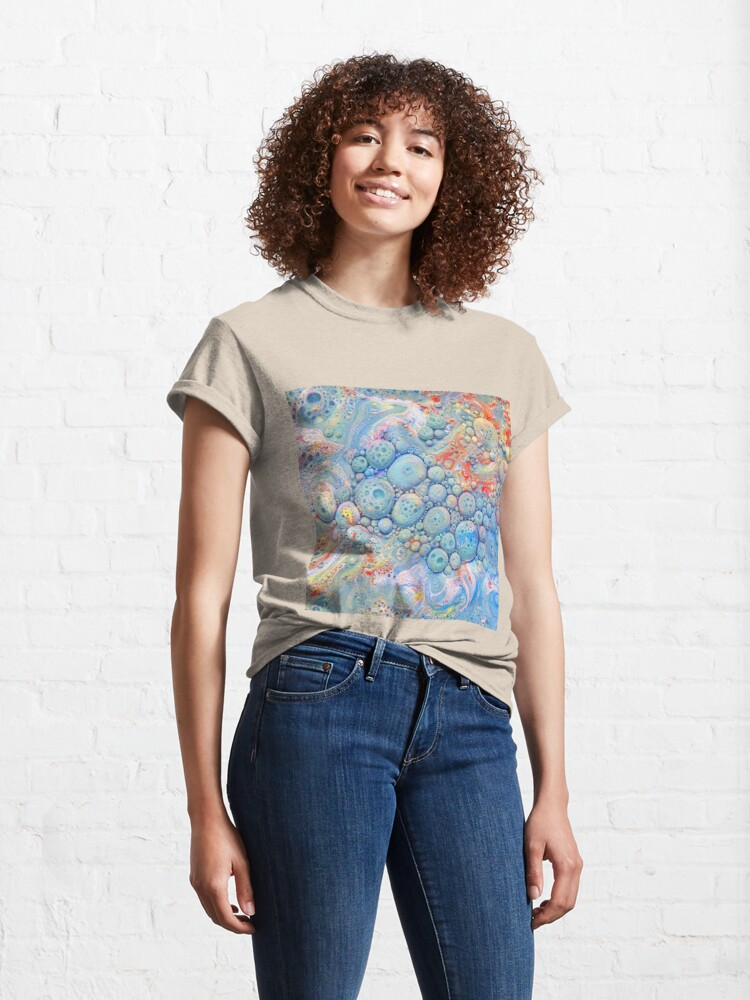 Alternate view of Abstraction #B Neural Networks Classic T-Shirt