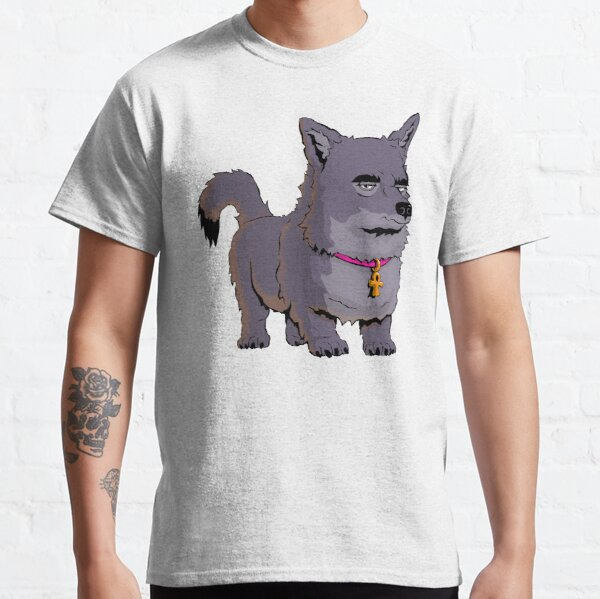 Anubis The Dog Frowns Classic T-Shirt
