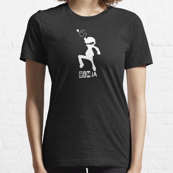 BIMja - The Architectural Ninja (for black shirts) Essential T-Shirt