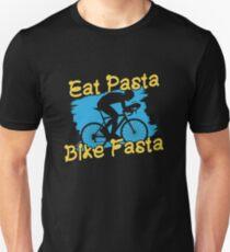 Eat Pasta Bike Fasta - I Love Italian Pasta Slim Fit T-Shirt