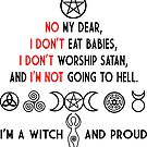 Wiccan and proud, - Witch Pride  by mavisshelton