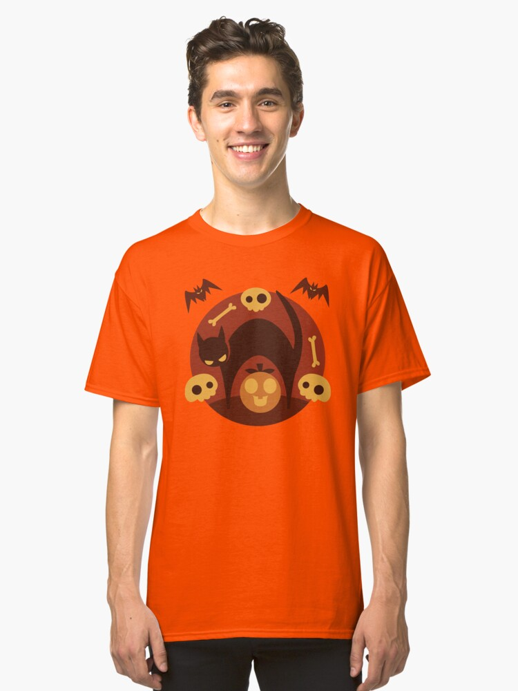 Alternate view of Spooky Classic T-Shirt