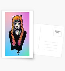 Lisa Frank Eyes Postcards